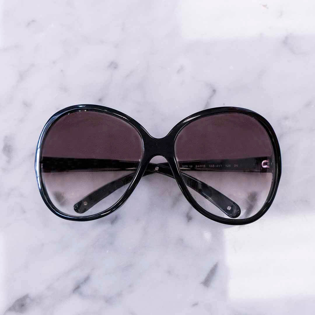 image of over sized sunglasses