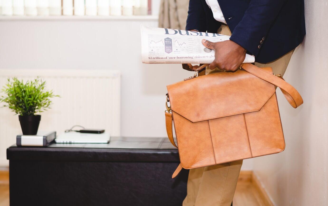 image of briefcase men's bags