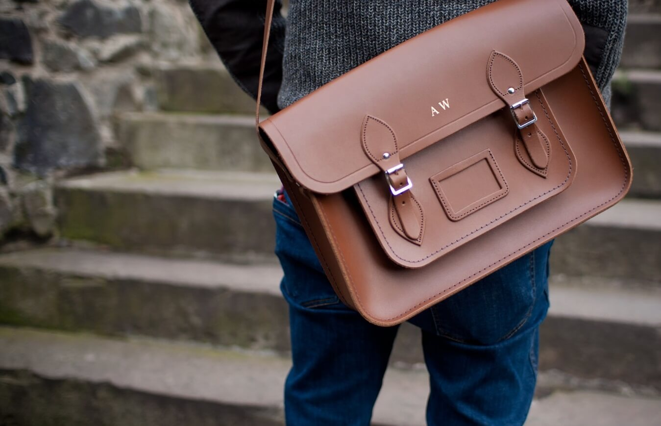 image of men's satchel