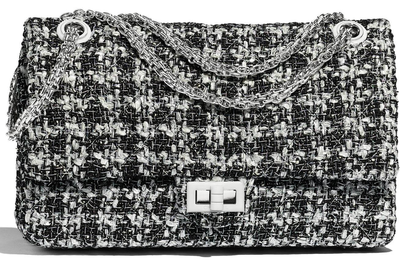 image of chanel classic flap handbag