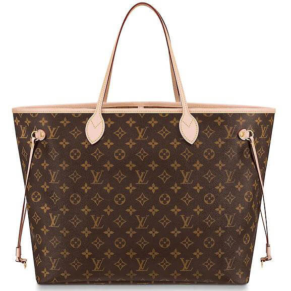image of louis vuitton neverfull classic designer bags