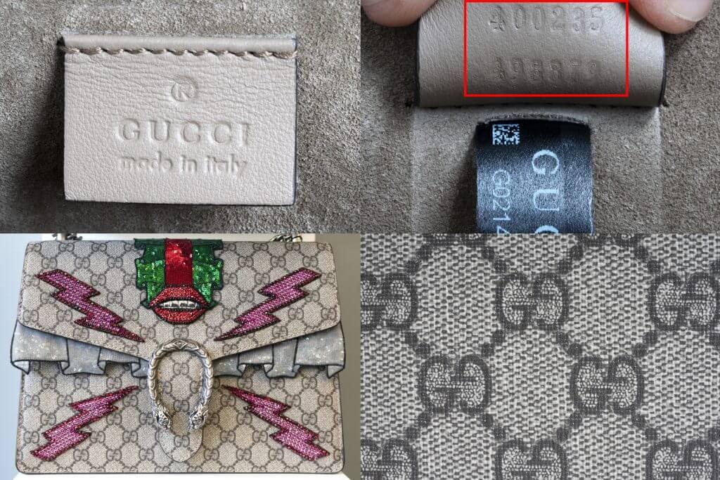 gucci trademarks for fake designer handbags