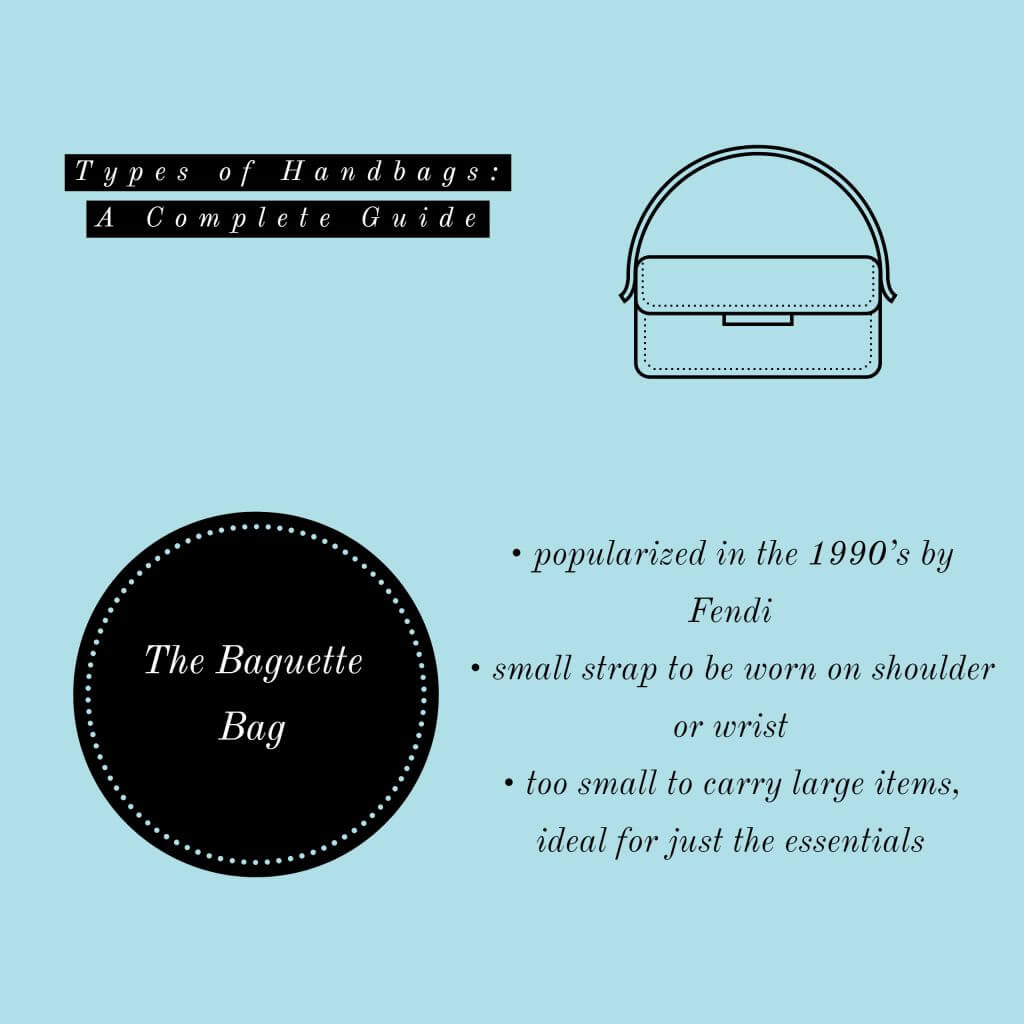 image of baguette handbag