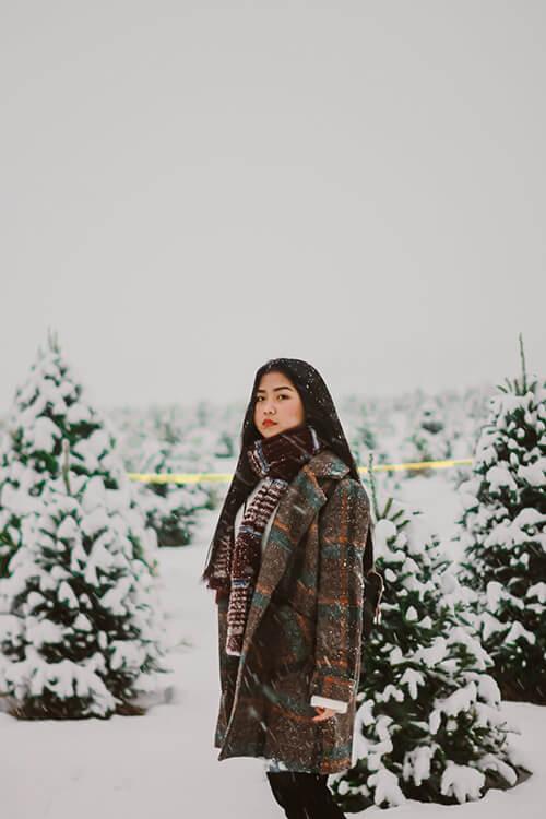 image of layered long sleeves winter fashion